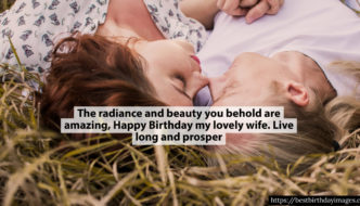 Rare collection of Happy Birthday wishes with images for wife