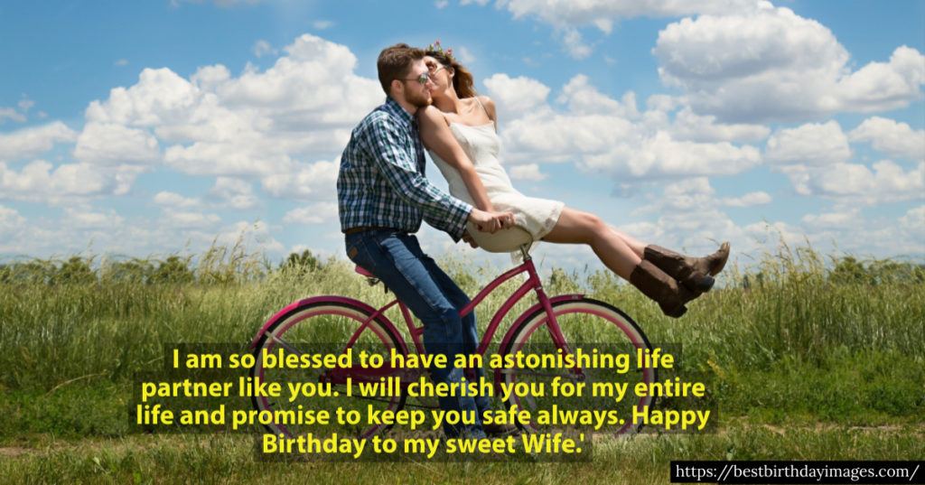 Happy Birthday wishes images for wife